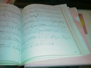 譜面をコピー