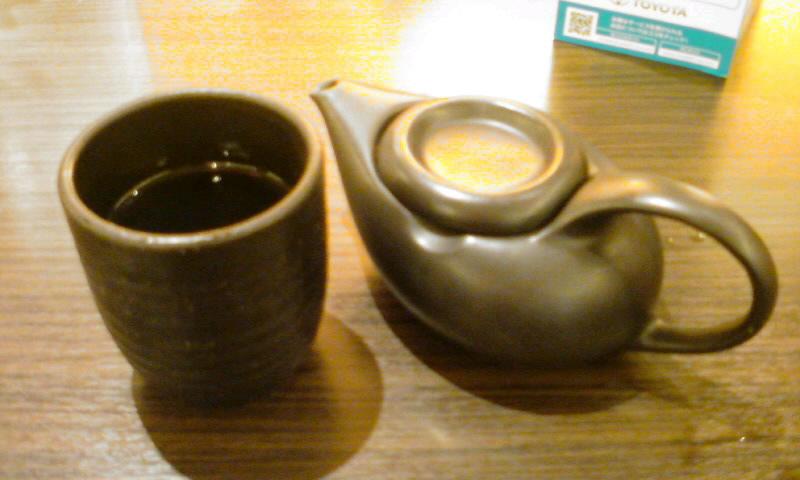 しょうがほうじ玄米茶で癒しのひととき…。