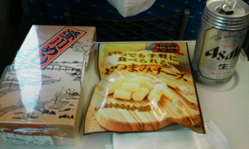 山陽新幹線に乗るのも久しぶり♪