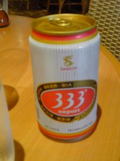 ベトナム料理とビール